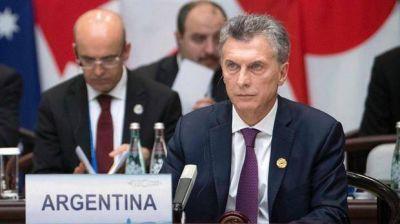 Mauricio Macri le pidió a los países desarrollados acabar con el proteccionismo