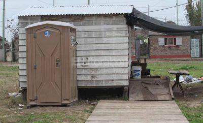 Comenzó la construcción de las viviendas para inundados