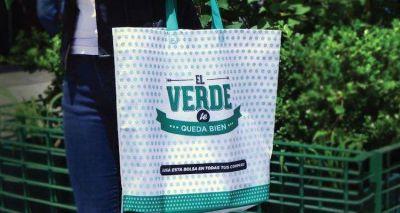 Los supermercados no podrán entregar más bolsas plásticas descartables
