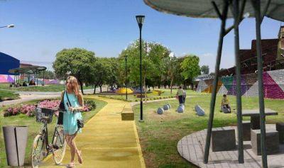 El municipio construir� una plazoleta en Lan�s Este