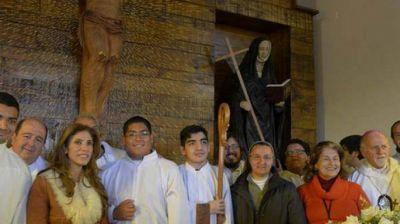 La beata Mama Antula ya tiene capilla en Villa Silípica