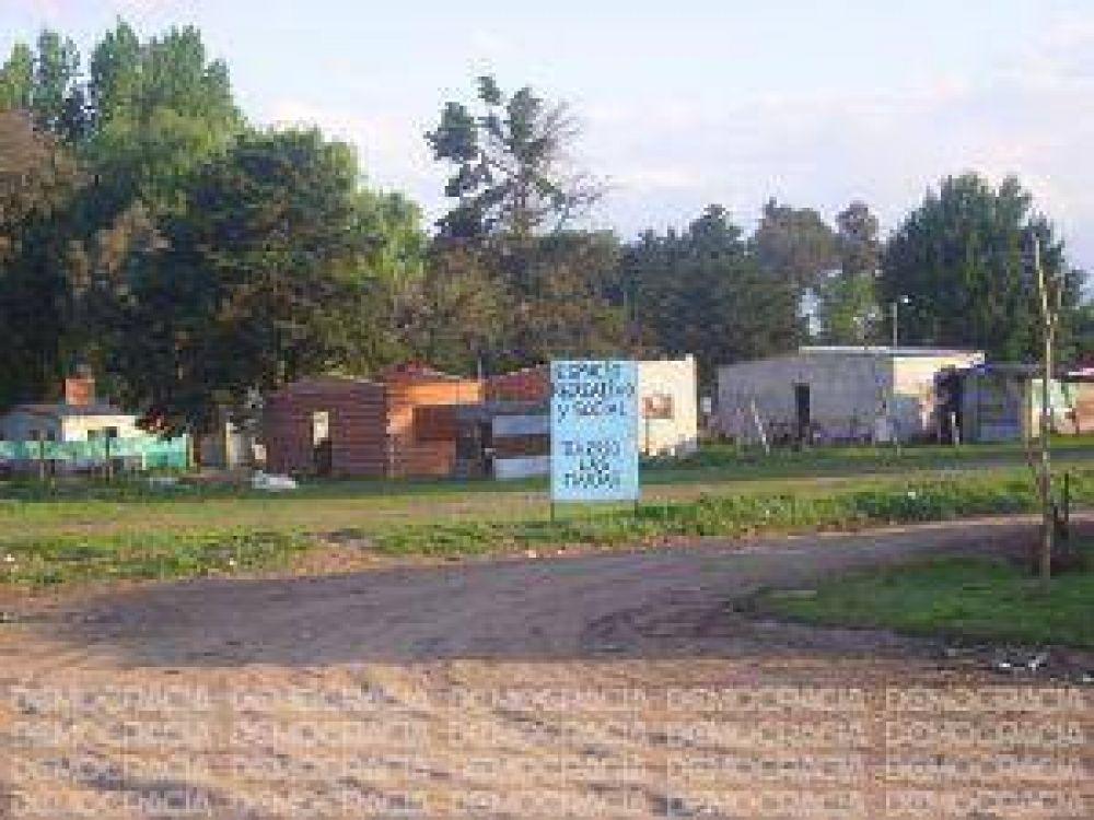Usurpaciones: el municipio trabaja en la urbanización de asentamientos