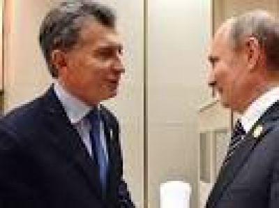 Los detalles de la reunión entre Mauricio Macri y Vladimir Putin