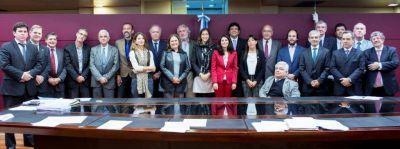 Misiones recibe a las autoridades de todos los Consejos de la Magistratura del pa�s