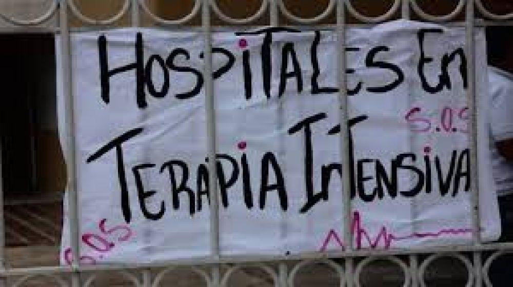 """""""La salud pública de toda la provincia está en crisis"""", aseguraron desde ATE"""