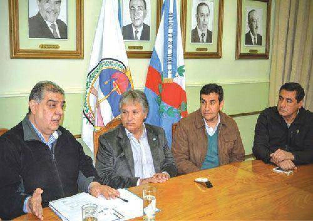Néstor Bosetti recibió a la comisión directiva de ATSA