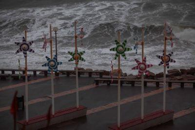 Rige alerta meteorológico en la ciudad por vientos intensos