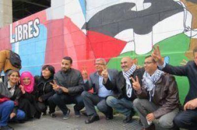 Ex presos pol�ticos palestinos visitan la Argentina para relatar sus historias