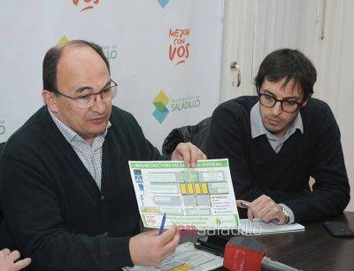 Se realizó la apertura de sobres para la obra de pavimentación de la calle Seguí entre Avenida Sanguinetti y Costa