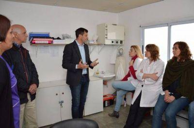 Se present� el nuevo Centro Vacunatorio en el CAPS de Pompeya