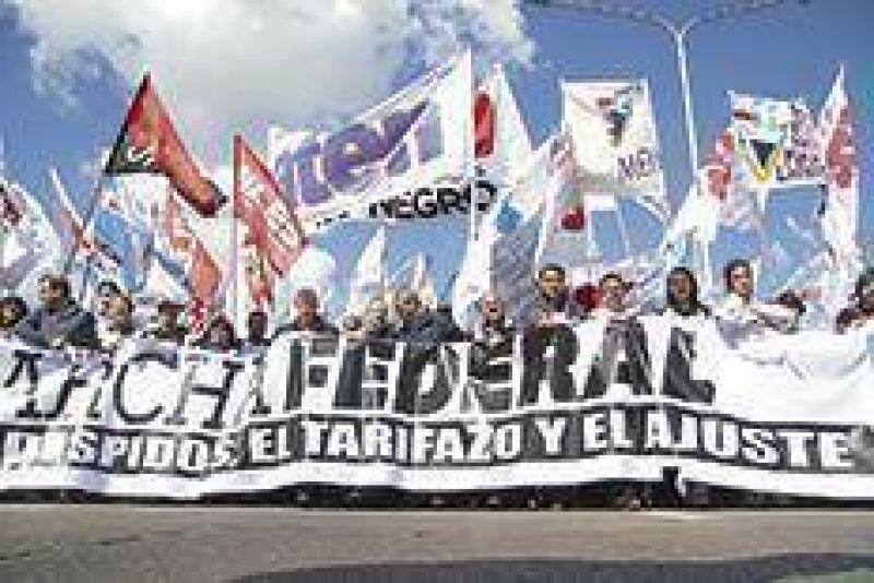 Marcha Federal y después