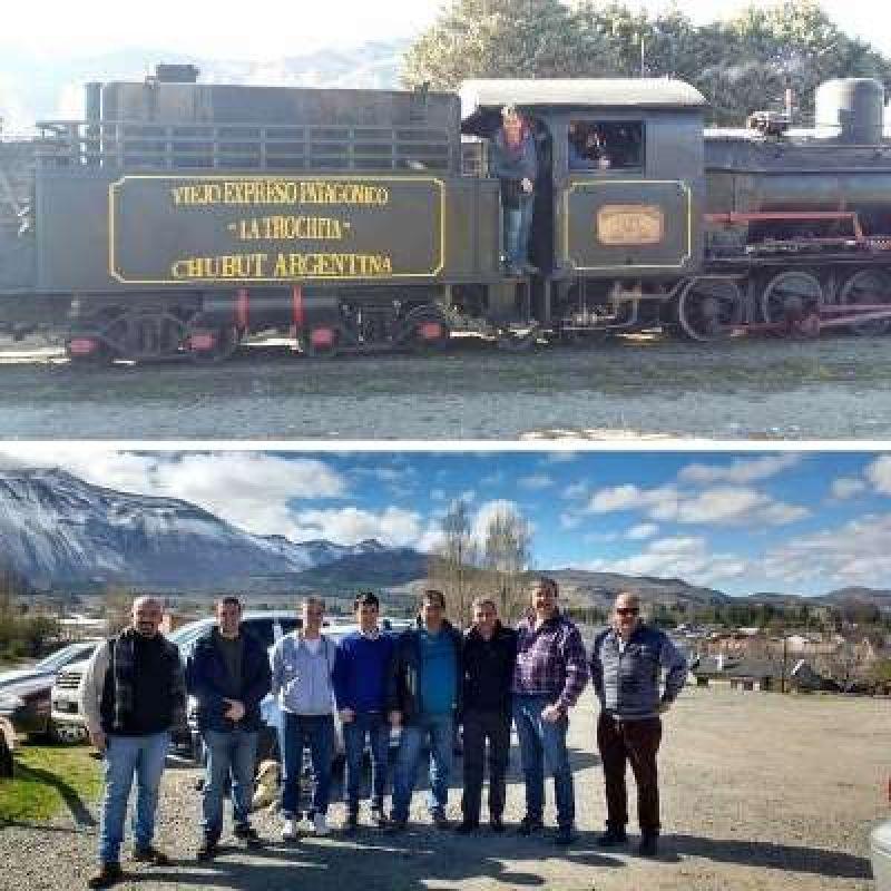 """La Fraternidad y la Unión Ferroviaria buscan restablecer el servicio """"La Trochita"""""""