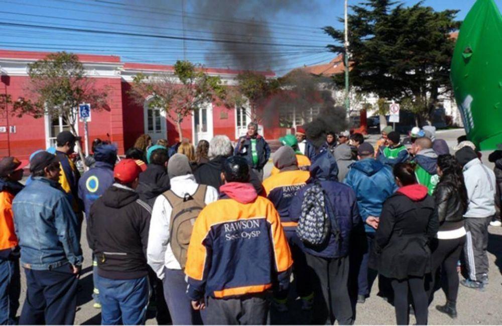 """""""Rawson es el municipio más precarizador de Chubut"""", dicen en ATE"""