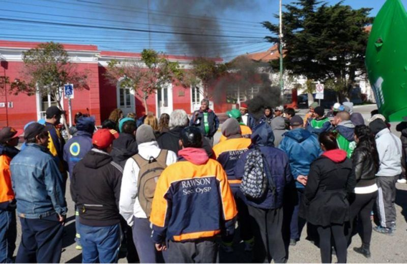 �Rawson es el municipio m�s precarizador de Chubut�, dicen en ATE