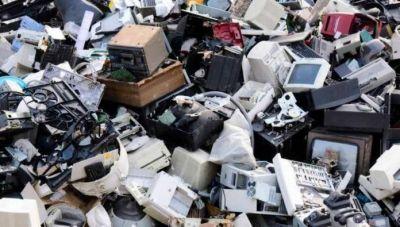 Acondicionan los residuos electrónicos