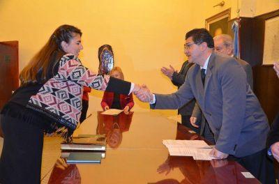 Karina Kalafattich y Santos Garzón juraron como integrantes del Consejo de la Magistratura