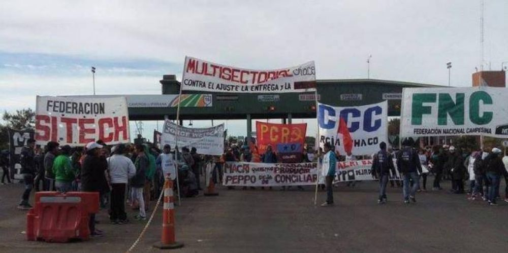 Federación SITECH ratifica la medida de fuerza y se moviliza junto a la Multisectorial