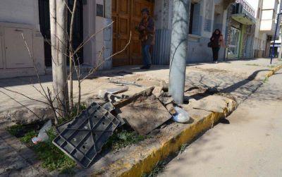 ABSA: iniciar�n el arreglo de veredas en el centro