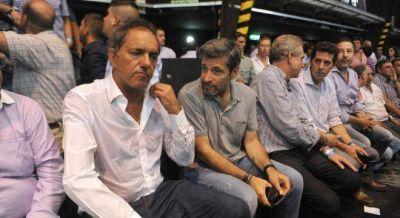 Scioli respaldó el planteo de Massa de cerrar las importaciones