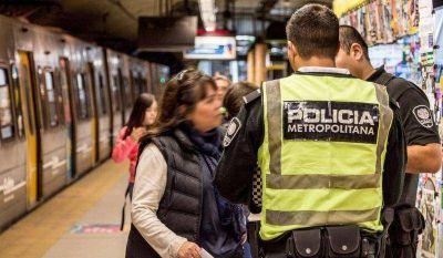 La Metropolitana destina 690 agentes al subte