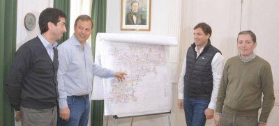Cenzón y Cascallares desplegaron un mapa de obras para Almirante Brown