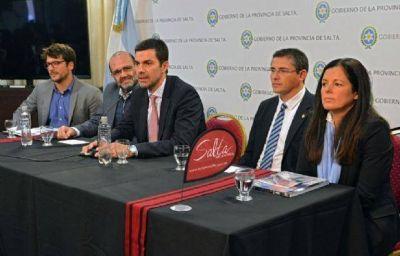 Juan Manuel Urtubey encabezó el lanzamiento del Rally Dakar 2017 en Salta
