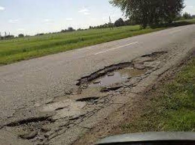 Anuncian la obra de repavimentación de la Ruta Provincial 30