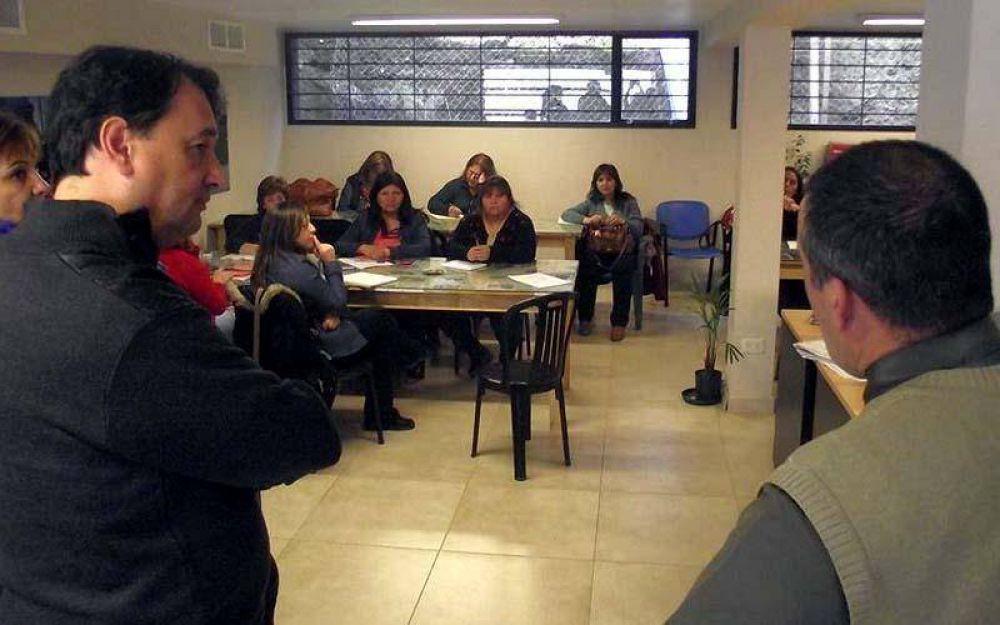 CTA y SOYEM organizan taller para municipales de Bariloche