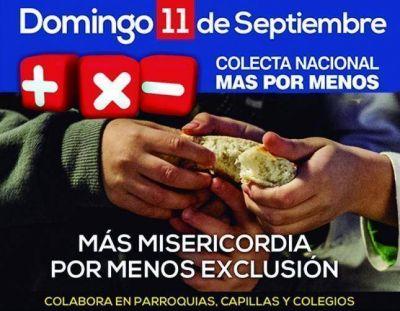 Colecta Nacional Más por Menos (10-11 de septiembre)