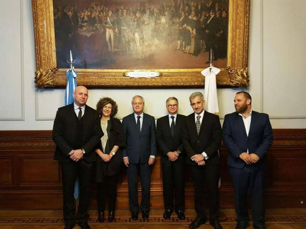 El Comité Judío Americano fue recibido en el Congreso de la Nación