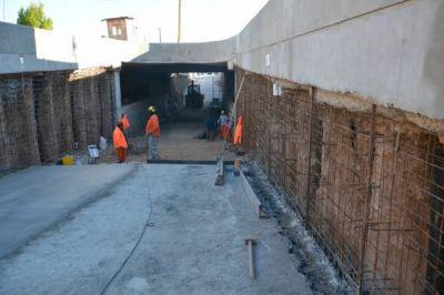 En dos meses culminaría la obra del viaducto de Mitre