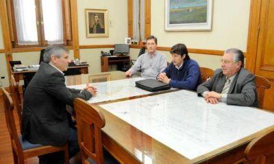 El Director de la Región IOMA Saladillo Vladimir Wuiovich se reunió con el intendente de Chivilcoy Guillermo Britos