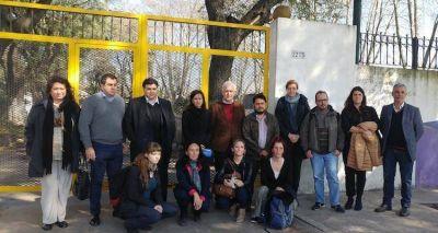 Finalmente, legisladores y auditores porte�os recorrieron un Centro de Atenci�n para personas en situaci�n de calle