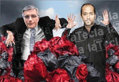 General Belgrano en llamas: la UCR y el FpV, en guerra por la basura