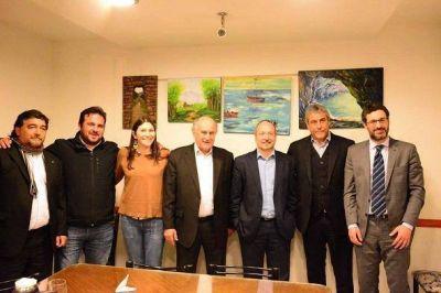 Parrilli, Ferraresi y Sabbatella presentaron el Instituto Patria
