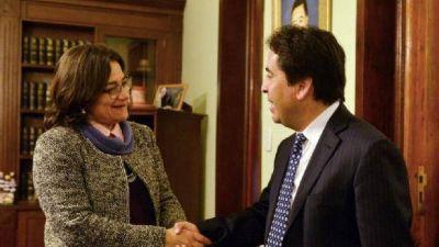 Chile se comprometió a terminar el asfalto del Paso durante el año 2017