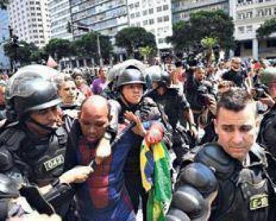 Un presidente que no puede dar la cara en Brasil