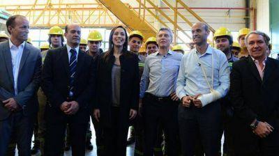 Mauricio Macri presentó en Llavallol el plan de obras para la red metropolitana de trenes