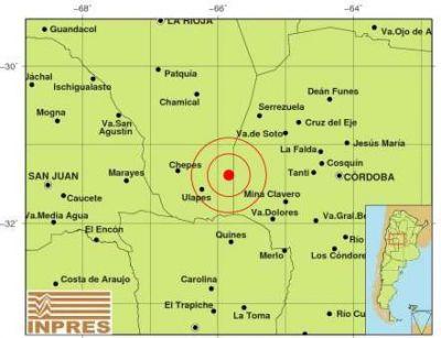 Fuerte temblor se sinti� en el sur de la provincia