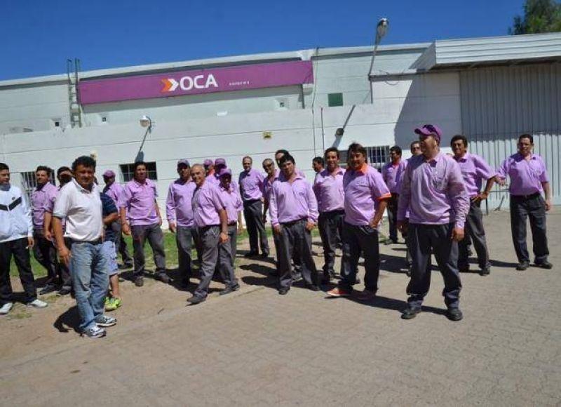 Paro nacional de trabajadores de Oca