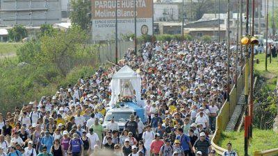 La 23º peregrinación Rosario San Nicolás en días