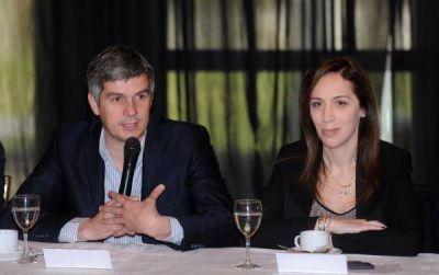 Vidal festejó su cumpleaños con el lanzamiento de la mesa provincial de Cambiemos