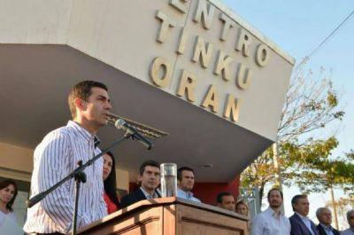 Juan Manuel Urtubey destac� el rol de las familias para tratar la problem�tica de las drogas