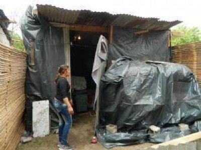 Continúa el reclamo de viviendas en Las Tolderías