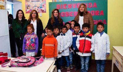Inauguran ampliaci�n y refacci�n de escuela en el interior de Choya