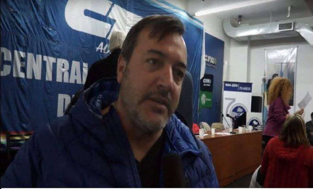 """Aguiar: """"Galli y Arroyo ponen palos en la relación de ATE con el Gobierno"""""""