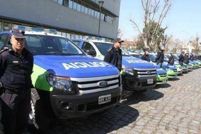 El municipio recuperó 11 móviles para las fuerzas de seguridad del distrito