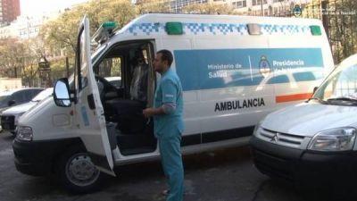 Nación entregó ambulancias para la Provincia de Buenos Aires