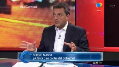 Massa a Macri: �No somos enemigos cada vez que planteamos una opini�n distinta�