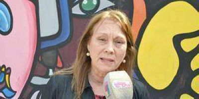 Diputada reclamó por el sector docente